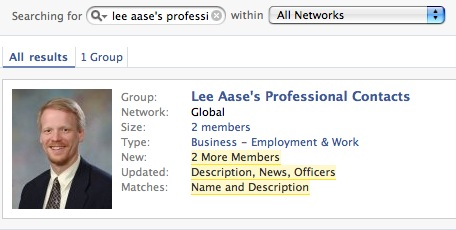 Personal-Professional Divisions in Facebook